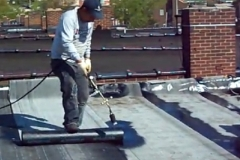 Torch Down Flat Roofing in St. Louis